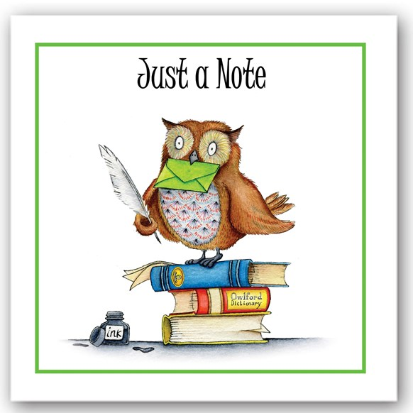 Just a Note Owl Occasions Card