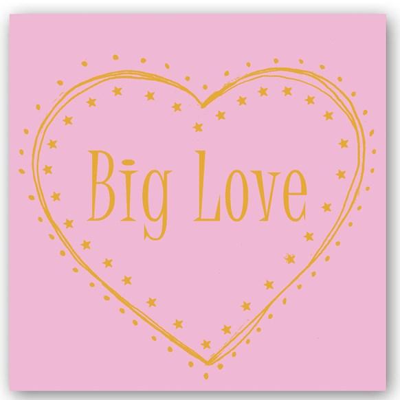 Big Love Foiling Card