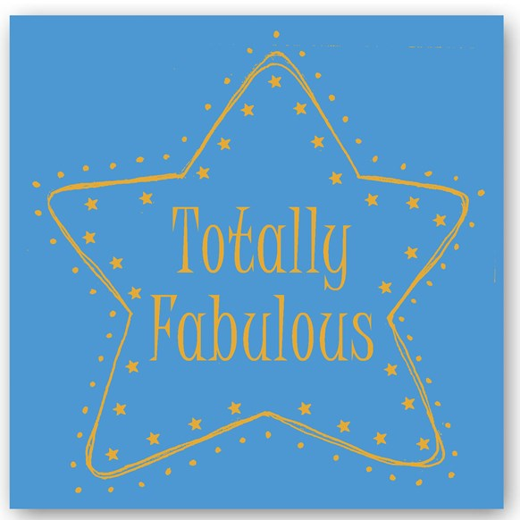 Totally Fabulous Foiling Card