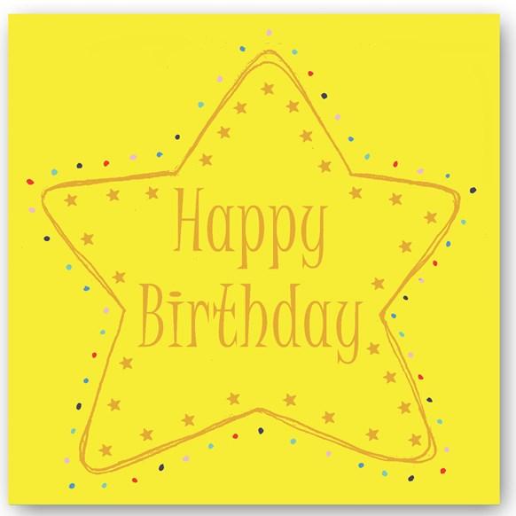 Happy Birthday Foiling Card
