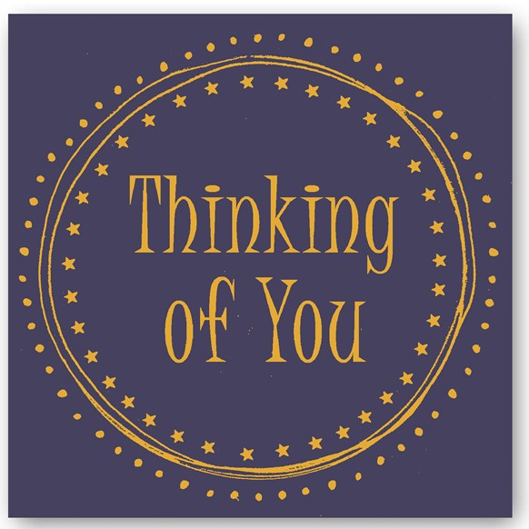 Thinking of you Foiling Card