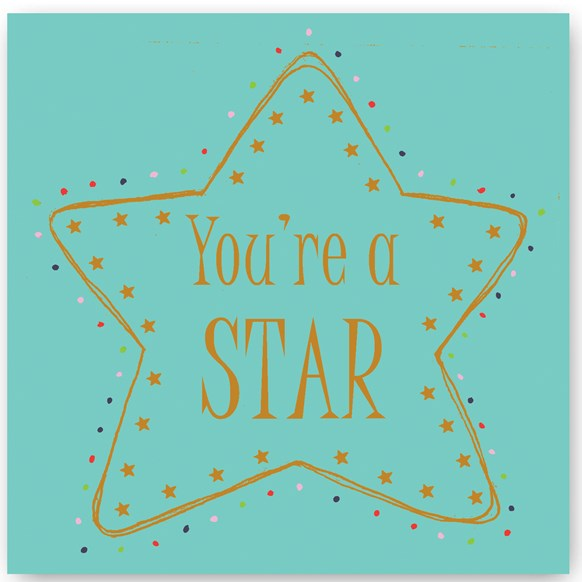 You're a Star Foiling Card