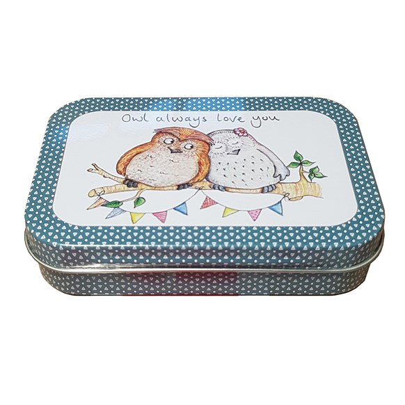 Owl Love Peppermint Tin