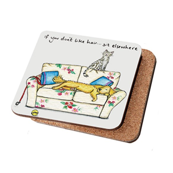 Sit Elsewhere Coaster