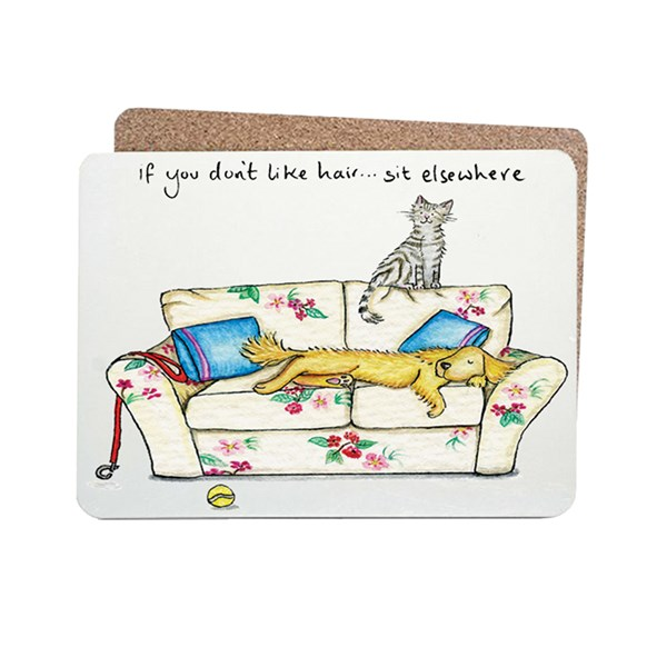 Sit Elsewhere Table Mat