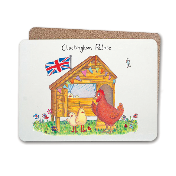 Cluckingham Table Mat