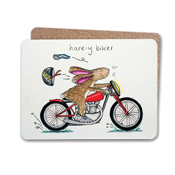 Hairy Biker Table Mat