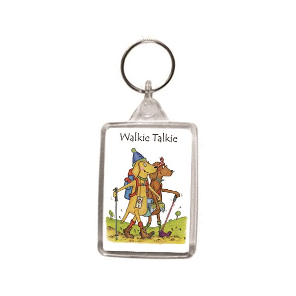 Walkie Talkie Key Ring