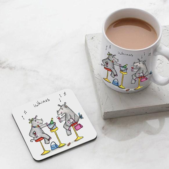 Whinos Mug and Coaster Set