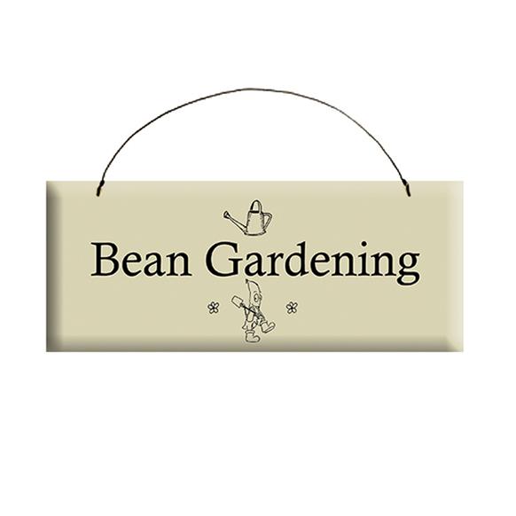 Bean Gardening Sign