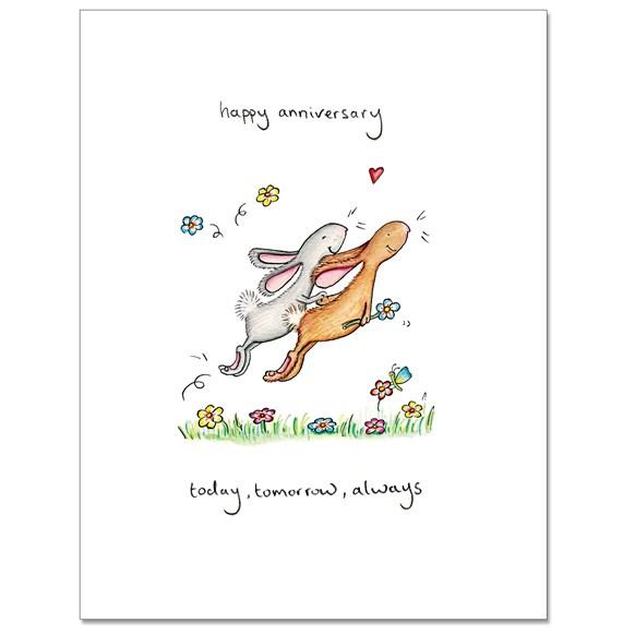 Today Tomorrow Greeting Card
