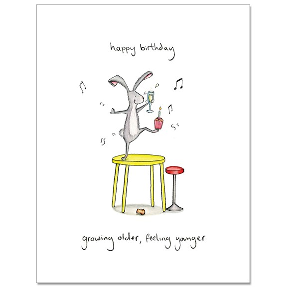 Feeling Younger Greeting Card