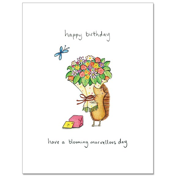 Blooming Marvellous Greeting Card