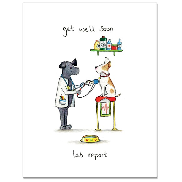 Lab Report Greeting Card