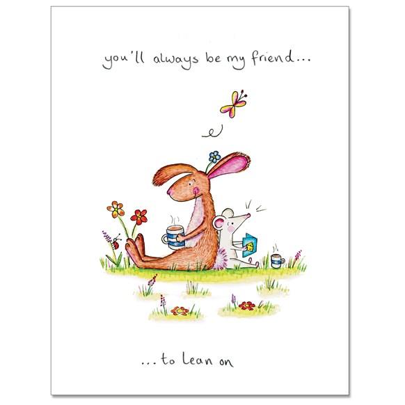 Always Friends Greeting Card
