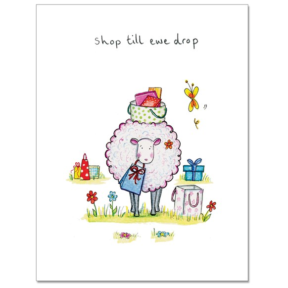 Shop Ewe Greeting Card