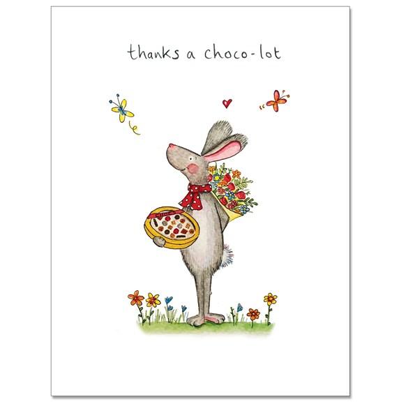 Chocolot Greeting Card