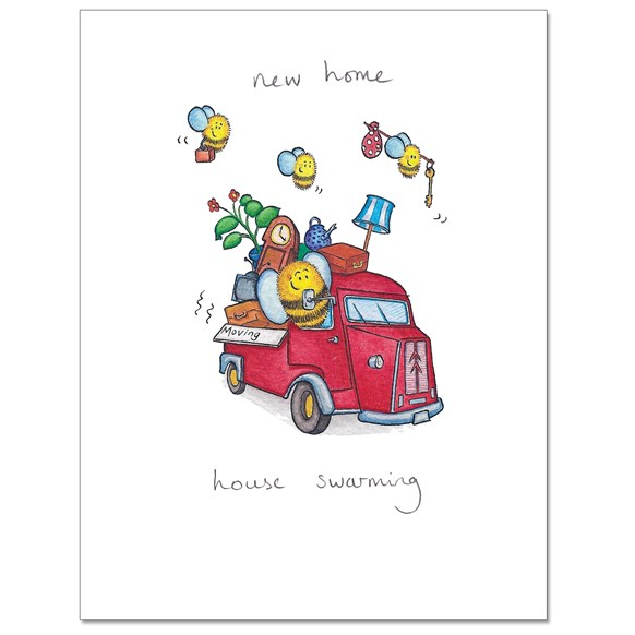 House Swarming Greeting Card
