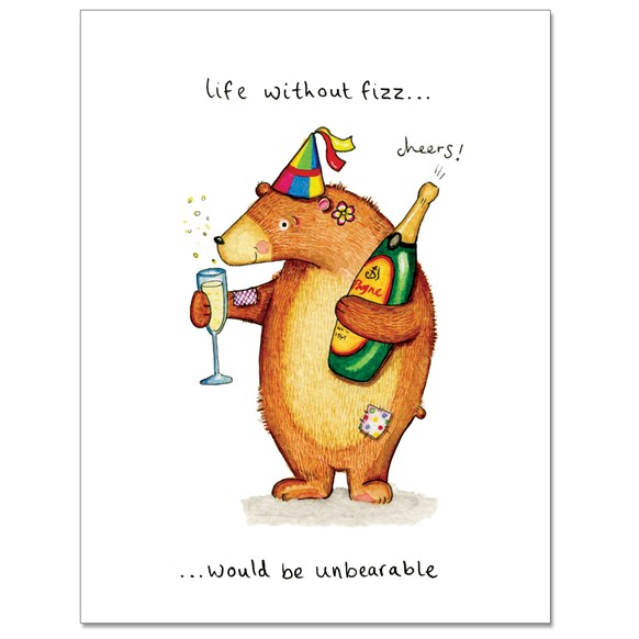 Unbearable Greeting Card