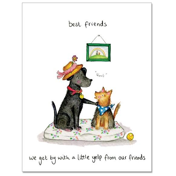 Little Yelp Greeting Card