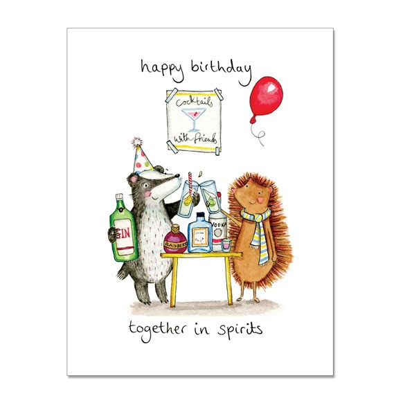 Together in Spirits Greeting Cards