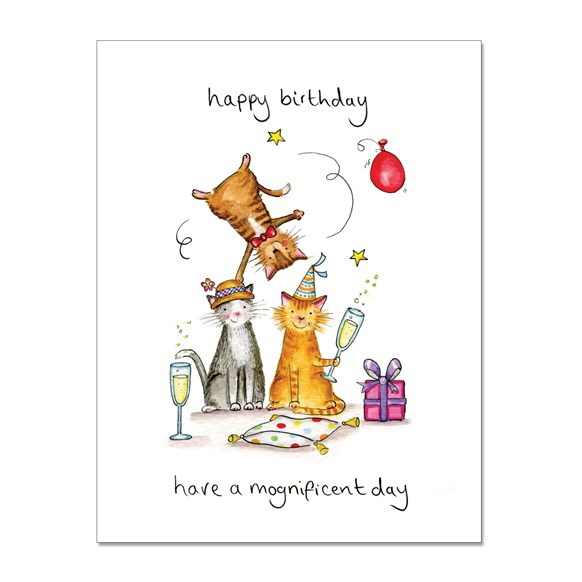 Mognificent Greeting Card