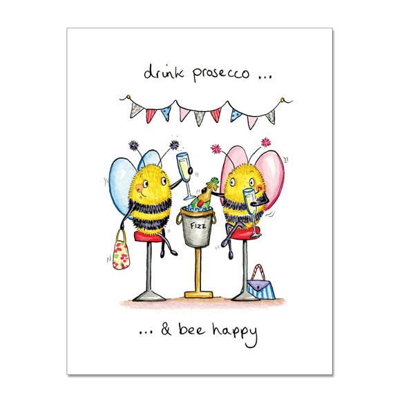 Drink Prosecco Greeting Card
