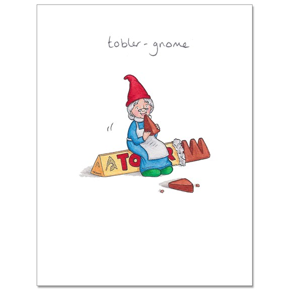 Tobler-Gnome Greeting Card
