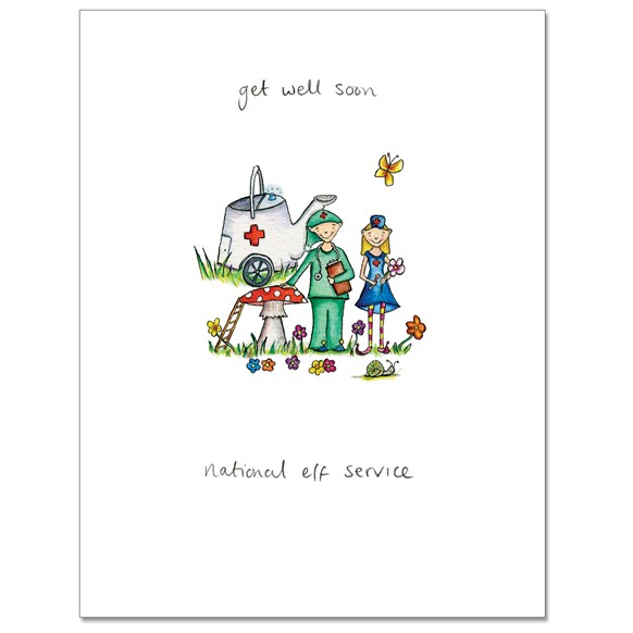 National Elf Greeting Card