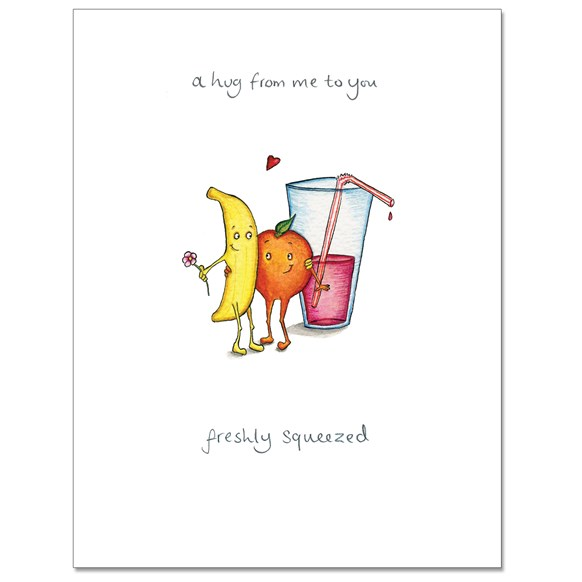 Freshly Squeezed Greeting Card