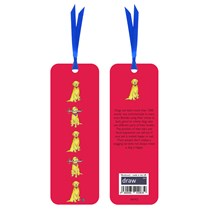 Dog Book Mark Red