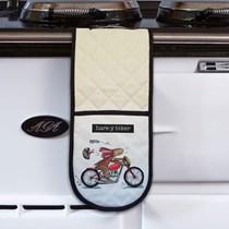 Hare-y Biker Oven Gloves