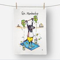 Gin Membership Tea Towel