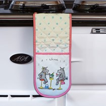 Whinos Pink Oven Gloves