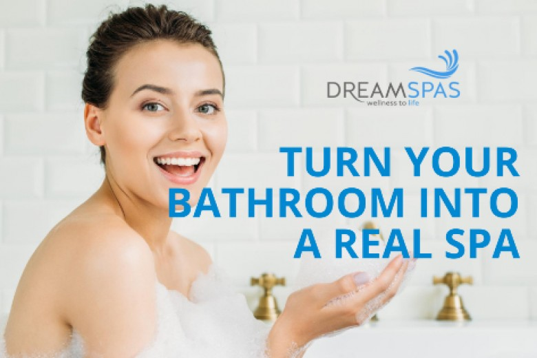 Turn your bathroom into a real spa