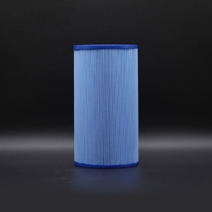 Wellis Spa Filter - AKU0116 - Antimicrobial Blue (No Thread)