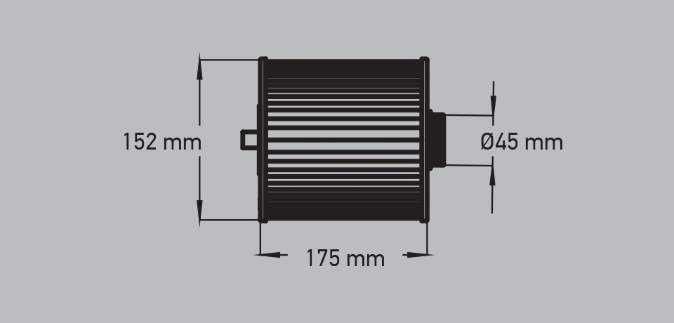 Wellis Spa Filter - AKU0135 - Antimicrobial Blue (Coarse Thread)