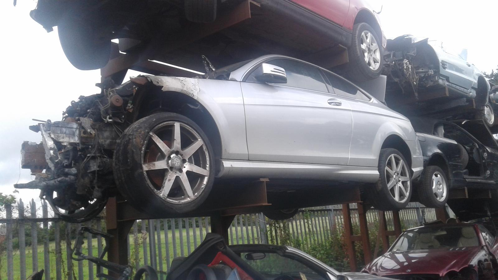 View Auto part Fog Lamp Mercedes C Class 2012