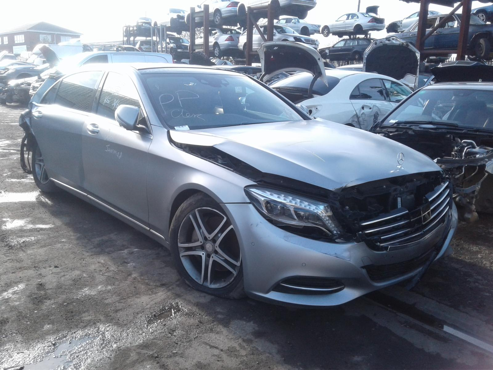 View Auto part RR Quarter Light Mercedes S Class 2016