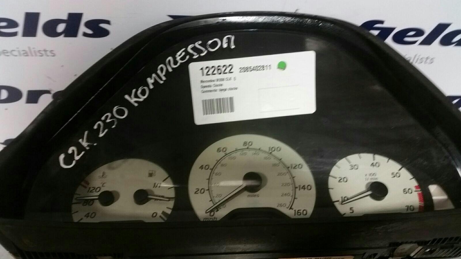 View Auto part Speedometer Mercedes Clk 1900