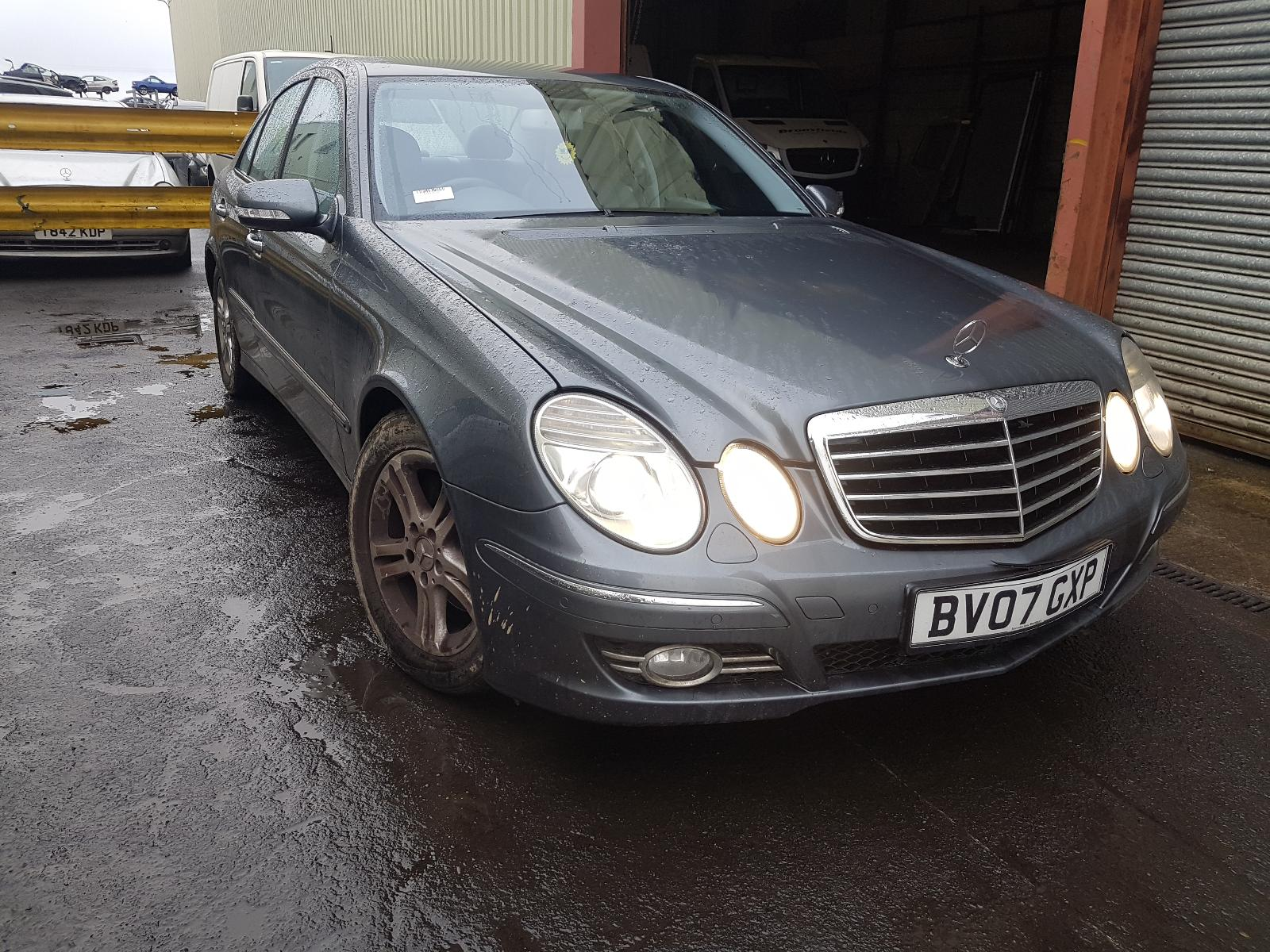 Image for a Mercedes E Class 2007 4 Door Saloon