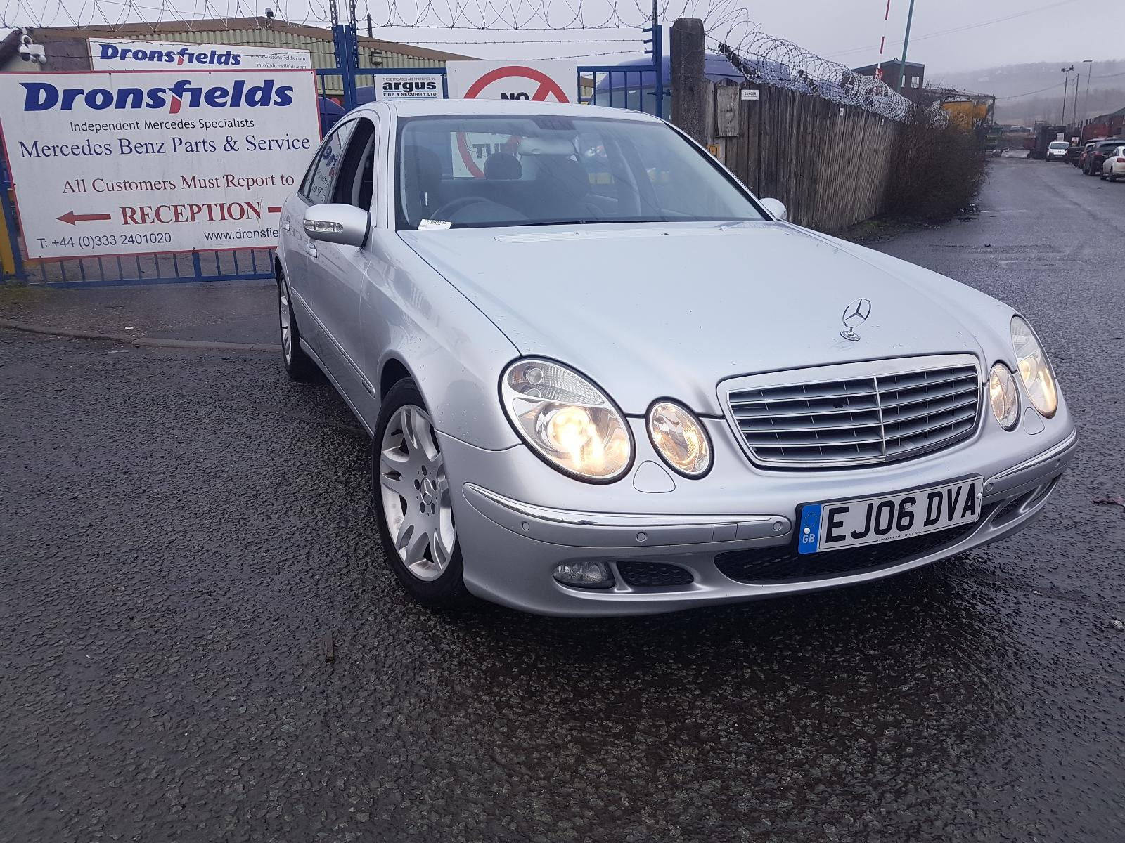 Image for a Mercedes E Class 2006 4 Door Saloon