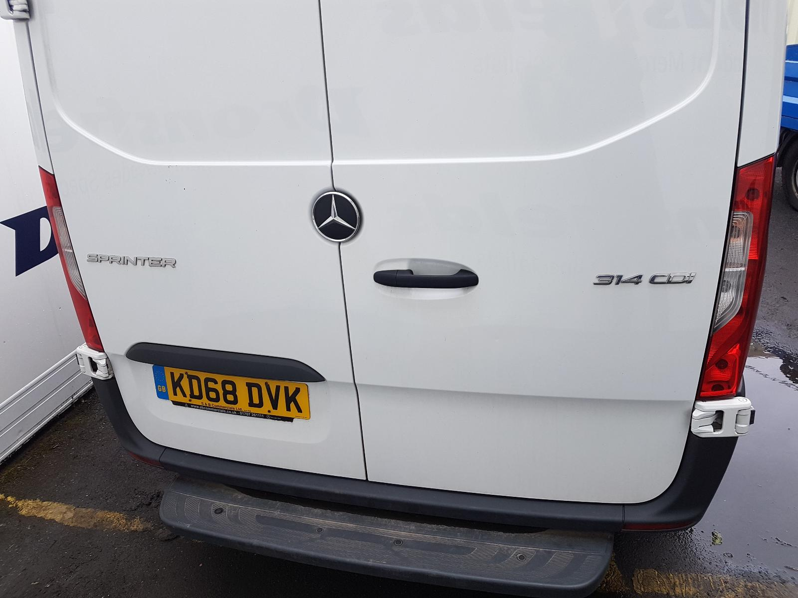 View Auto part R Wing Mercedes Sprinter 2019