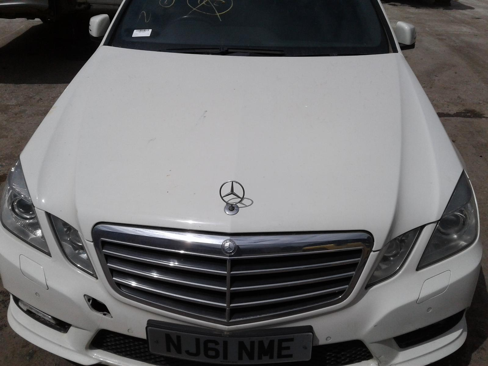 View Auto part Bonnet Mercedes E Class 2011