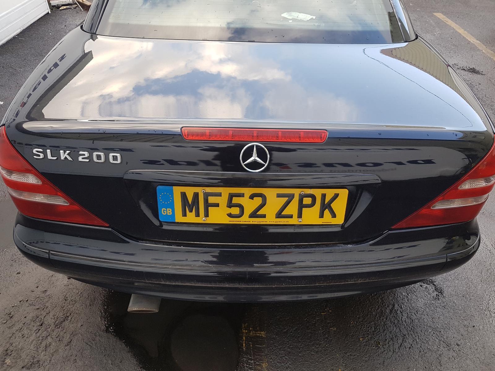 View Auto part Misc Mercedes Slk 2002