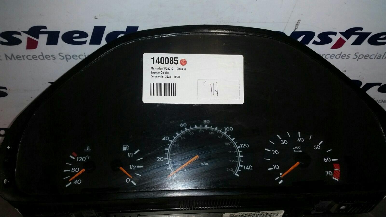 View Auto part Speedometer Mercedes C Class 1900