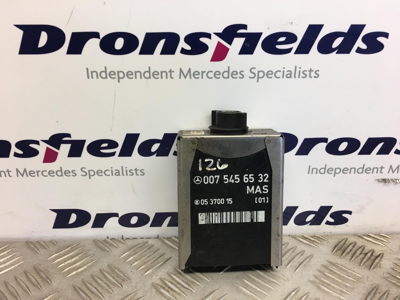 View Auto part Misc. Relay Mercedes S Class 1988