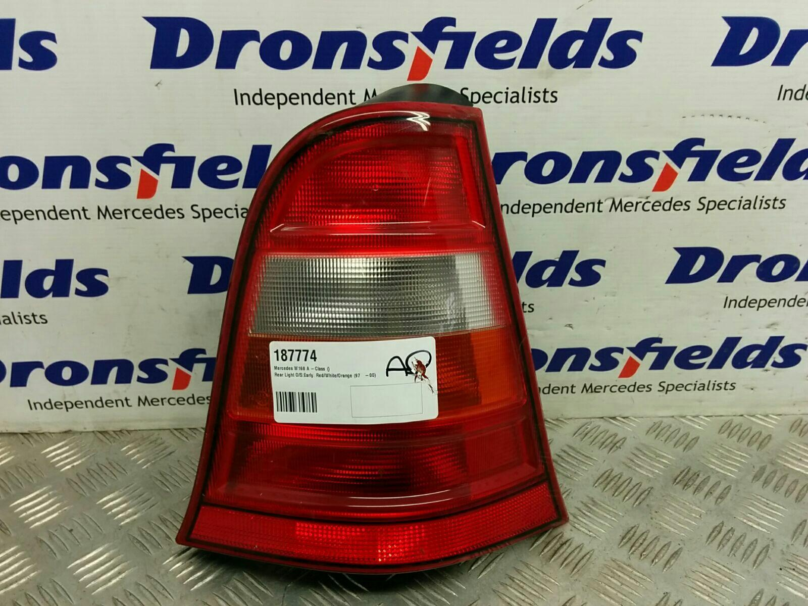 View Auto part R Taillight Mercedes A Class 1900
