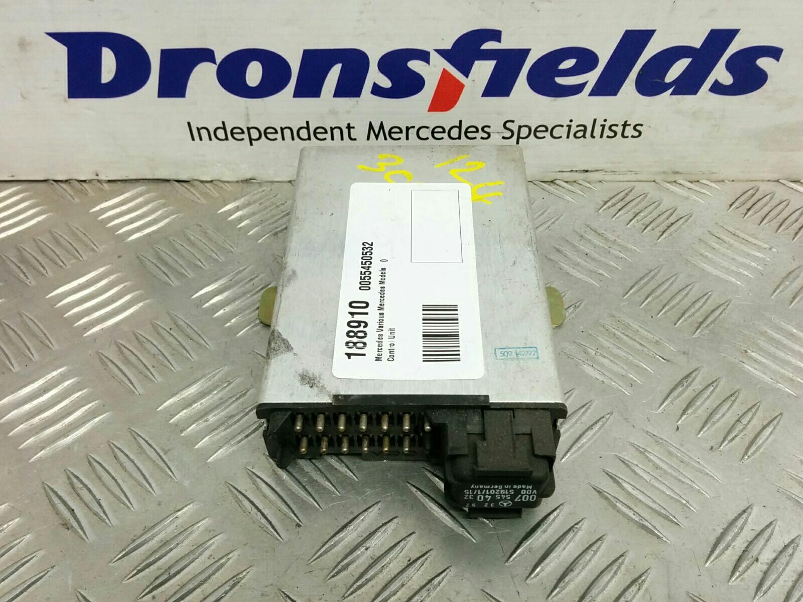 View Auto part Misc. Relay Mercedes S Class 1990