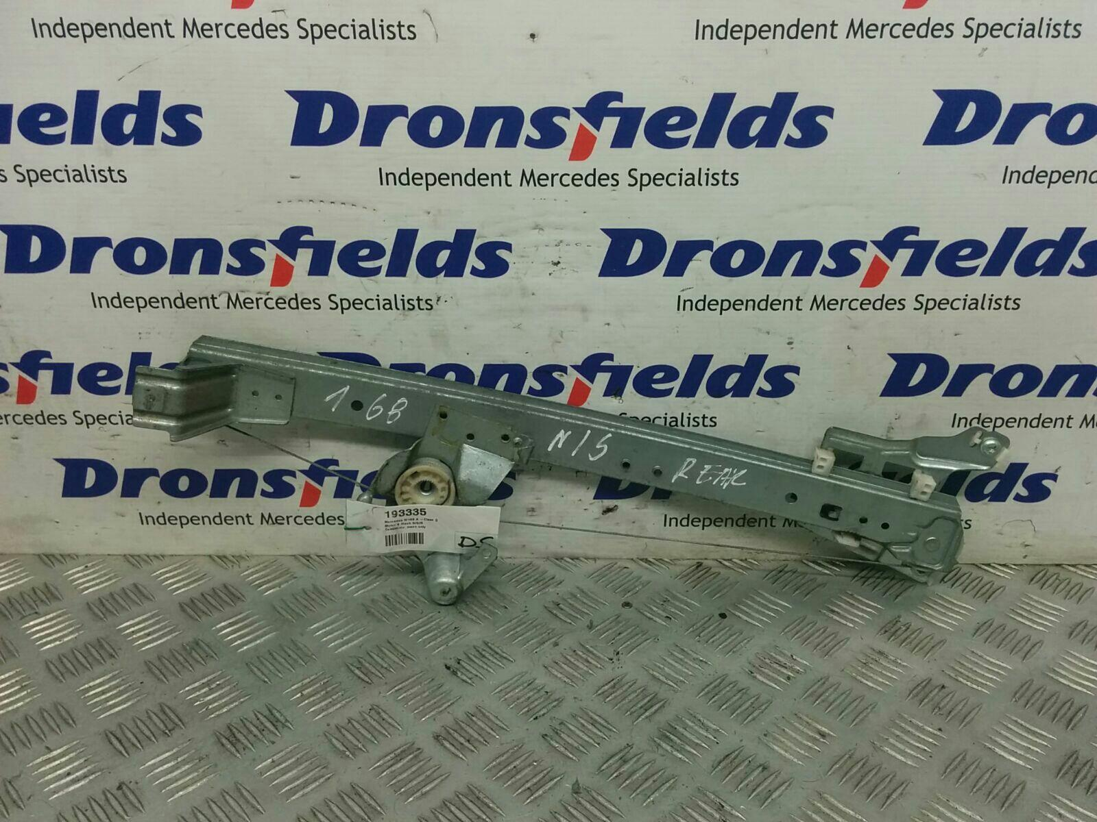 View Auto part LR Window Regulator Mercedes A Class 1900